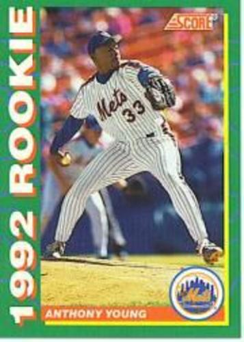Photo of 1992 Score Rookies #14 Anthony Young