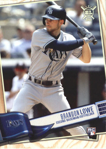Photo of 2019 Topps Big League #328 Brandon Lowe RC
