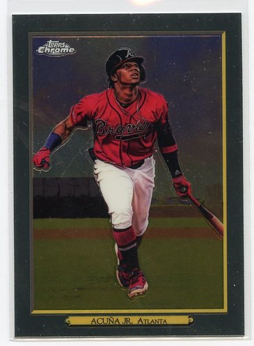 Photo of 2020 Topps Turkey Red '20 Chrome #TRC2 Ronald Acuna Jr.