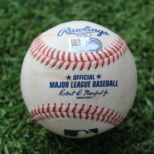 Photo of Game-Used Baseball: Luis Robert 2nd Career Home Run (CWS @ KC 8/1/20)