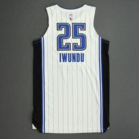 Wes Iwundu - Orlando Magic - Game-Worn Association Edition Jersey - 2019-20 NBA Season Restart