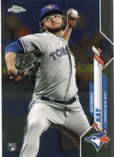 Photo of 2020 Topps Chrome #120 Anthony Kay RC