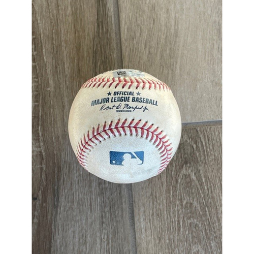 Photo of 8/24/20 Game-Used Baseball, Rockies at D-backs: Stefan Crichton vs. Garrett Hampson (Ground out) and Tony Wolters (Single to Starling Marte)