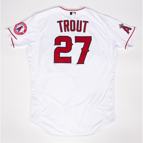 Photo of Mike Trout 2021 Game-Used Jersey - Used During 4 Games