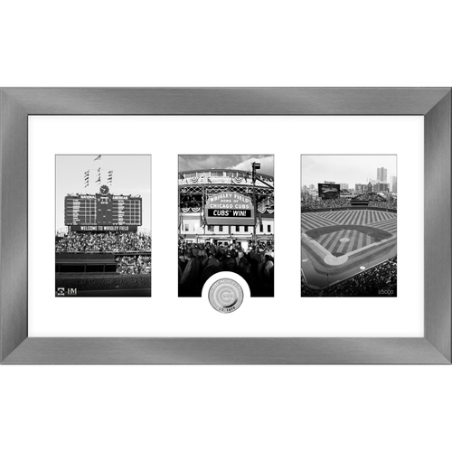 Photo of Serial #1! Chicago Cubs Art Deco Silver Coin Photo Mint