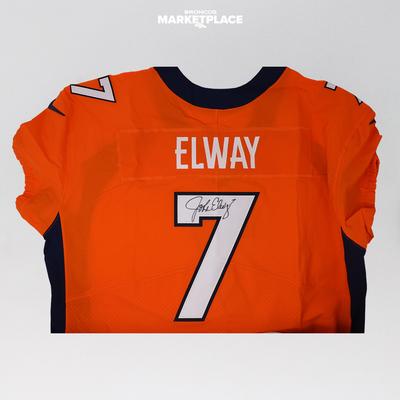 Photo of John Elway Authentic Jersey