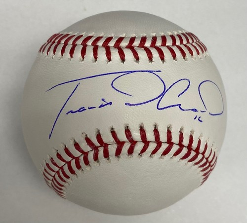 Photo of Travis d'Arnaud Autographed Baseball