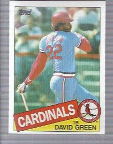 Photo of 1985 Topps #87 David Green
