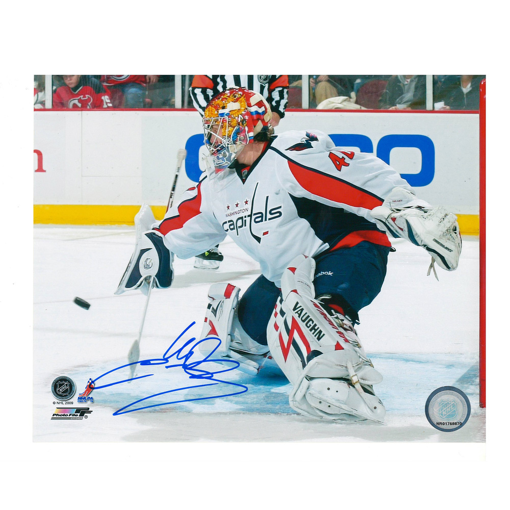 SEMYON VARLAMOV Signed Washington Capitals 8 X 10 Photo - 70347