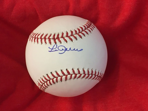 Photo of Leo Cardenas Autographed Baseball