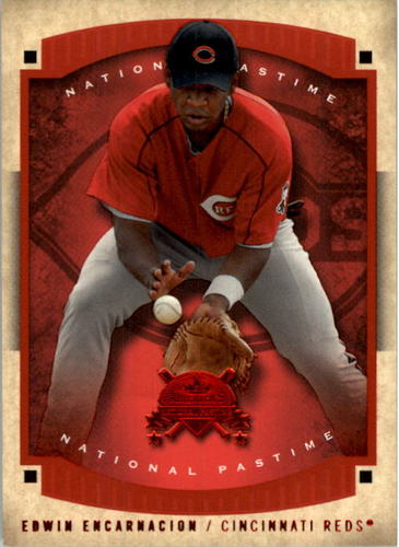 Photo of 2005 National Pastime Red Foil #66 Edwin Encarnacion IS