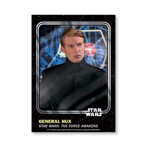 General  Hux 2016 Star Wars Card Trader Base Poster - # to 99