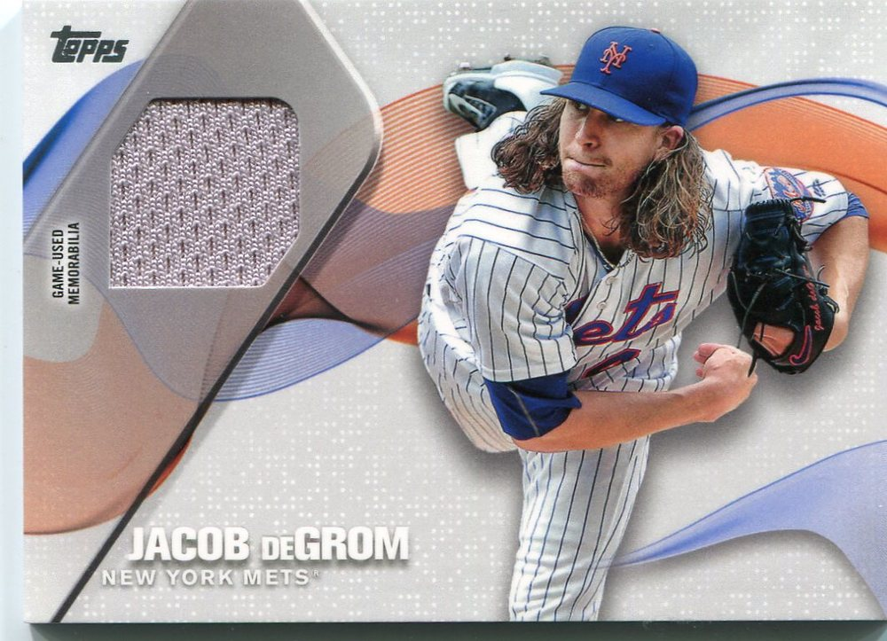 2017 Topps Major League Materials #MLMJDG Jacob deGrom