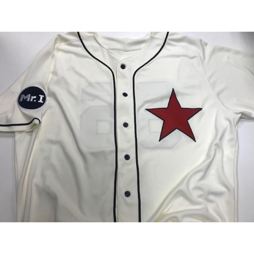 Photo of Team-Issued Detroit Stars Jersey: Arcenio Leon