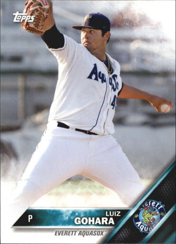 Photo of 2016 Topps Pro Debut #10 Luiz Gohara -- Ranked #49 of MLB's Top 100 Prospects