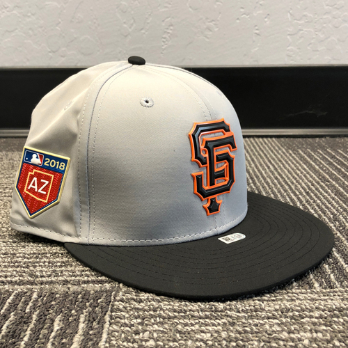 Photo of 2018 San Francisco Giants - Spring Training Caps (Team Issued - Select Your Size)