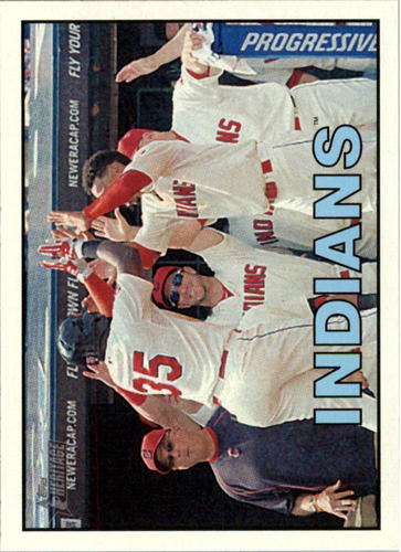 Photo of 2016 Topps Heritage #347 Cleveland Indians
