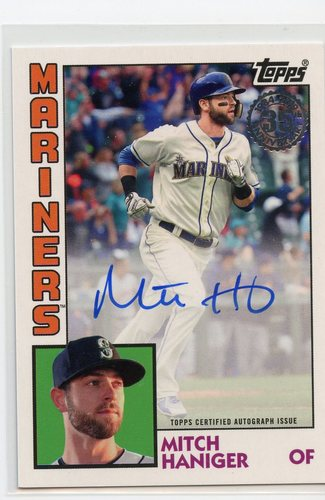 Photo of 2019 Topps '84 Topps Autographs #84AMH Mitch Haniger