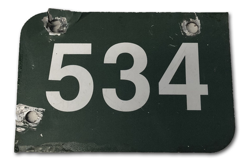 Photo of Wrigley Field Collection -- Aisle Marker 534 -- Removed after 2018 Season