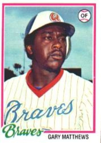 Photo of 1978 Topps #475 Gary Matthews