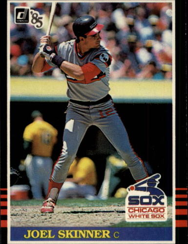 Photo of 1985 Donruss #574 Joel Skinner