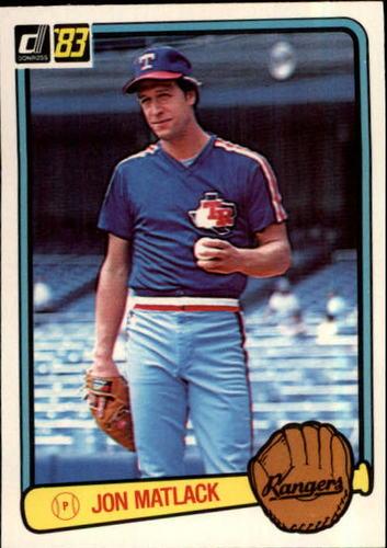 Photo of 1983 Donruss #195 Jon Matlack