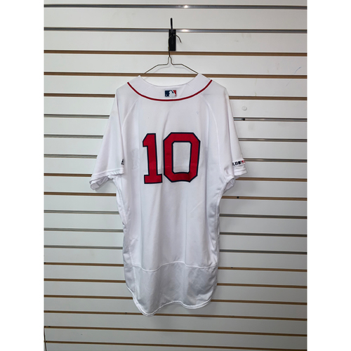 Photo of David Price Game-Used July 30, 2019 Home Jersey - 4 1/3, 9 Ks