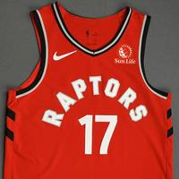 Isaiah Taylor - Toronto Raptors - Game-Issued Icon Edition Jersey - NBA Japan Games - 2019-20 NBA Season
