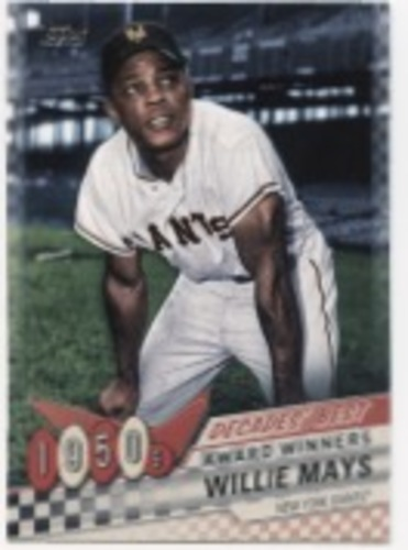 Photo of 2020 Topps Decades' Best #DB6 Willie Mays