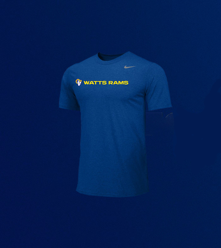 Photo of Men's Short-Sleeve Training Crew - Royal