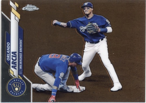 Photo of 2020 Topps Chrome #140 Orlando Arcia