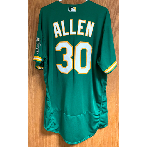 Photo of Austin Allen Game-Used 2020 Jersey