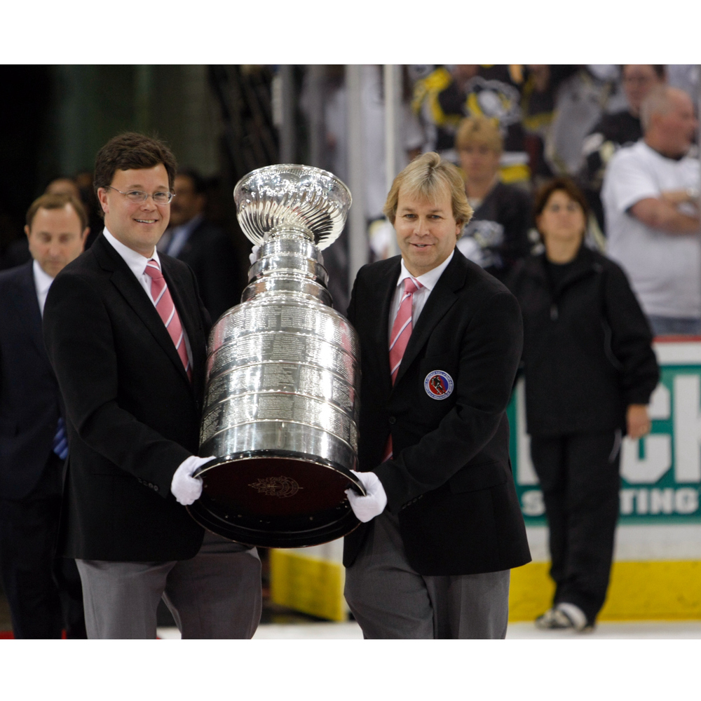 Personal Zoom Call with the Stanley Cup & Keepers of the Cup, Phil Pritchard & Craig Campbell