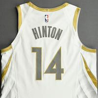 Nate Hinton - Dallas Mavericks - Game-Worn - City Edition Jersey - Dressed, Did Not Play (DNP) - 2020-21 NBA Season