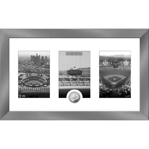 Photo of Serial #1! Los Angeles Dodgers Art Deco Silver Coin Photo Mint