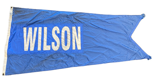 Wrigley Field Collection -- Rooftop Flag --  Hack Wilson