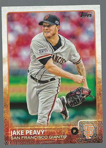 Photo of 2015 Topps #228 Jake Peavy