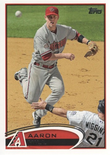 Photo of 2012 Topps #527 Aaron Hill