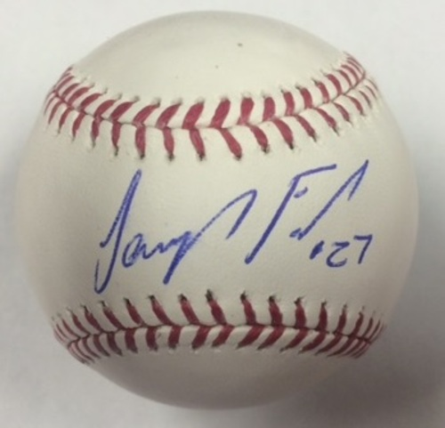 Photo of Jeurys Familia Autographed Baseball
