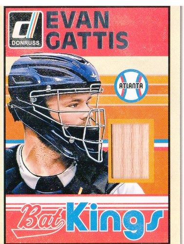 Photo of 2014 Donruss Bat Kings #30 Evan Gattis