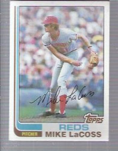 Photo of 1982 Topps #294 Mike LaCoss