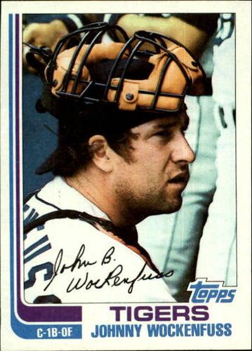 Photo of 1982 Topps #629 John Wockenfuss