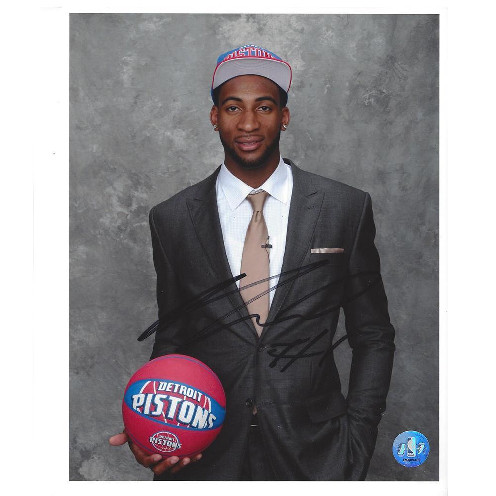e6c262b84472 Andre Drummond - Detroit Pistons - 2012 NBA Draft - Autographed Photo