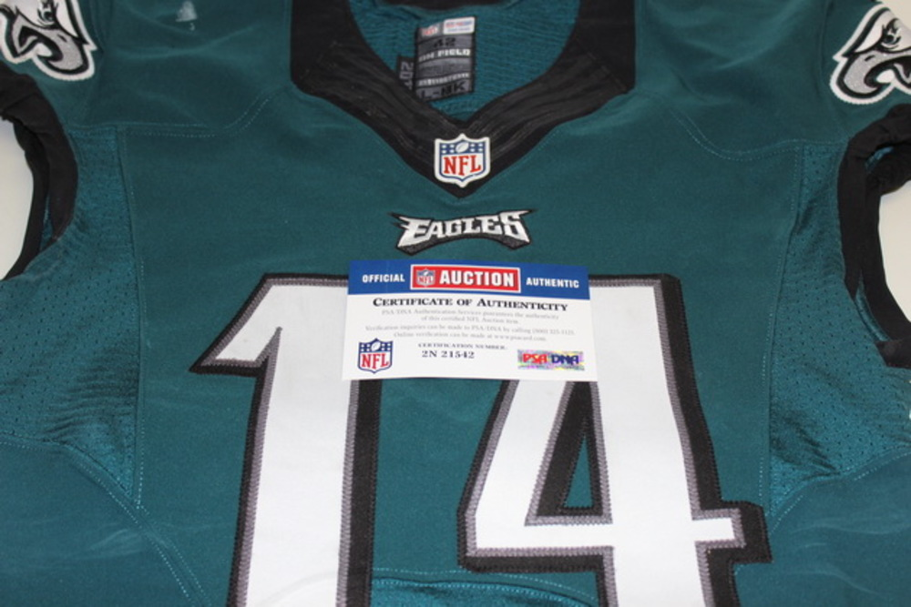 NFL Auction | STS - EAGLES RILEY COOPER GAME WORN EAGLES JERSEY ...