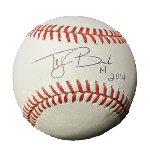 Photo of San Francisco Giants - Autographed Ball - Tyler Beede
