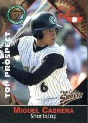 Photo of 2001 Midwest League Top Prospect Multi-Ad #14 Miguel Cabrera