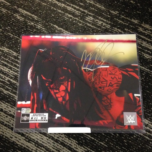 Finn Bálor SIGNED 8 x 10 Limited Edition WrestleMania 33 Photo (#33 of 33)