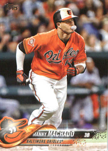 Photo of 2018 Topps #25 Manny Machado