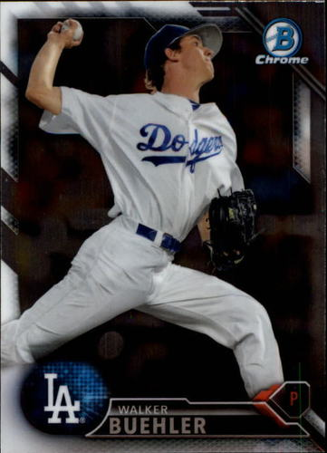 Photo of 2016 Bowman Chrome Prospects #BCP78 Walker Buehler