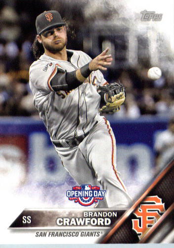 Photo of 2016 Topps Opening Day #OD15 Brandon Crawford